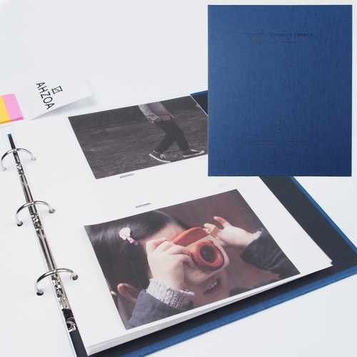 4x6 Inch Pockets Daily Album (Blue)