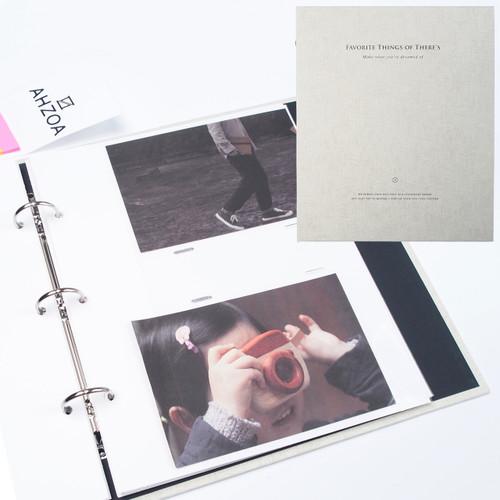 4x6 Inch Pockets Daily Album (Oatmeal)