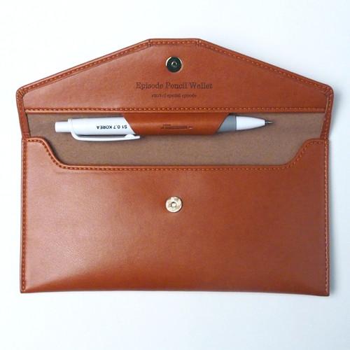 Episode Pencil Wallet(Brown)
