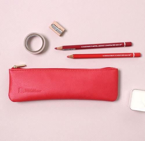 Slim Pencil Case(Red)