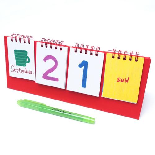 Pastel Countdown Standing Desk Calendar