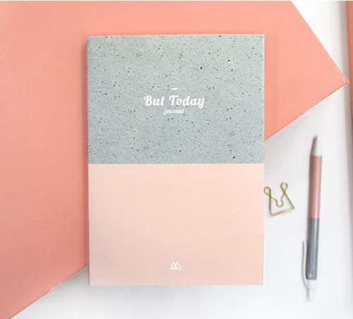 But Today Diary (Pink)