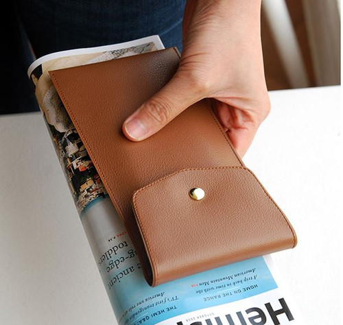 Extra Pencil Pouch (Brown)