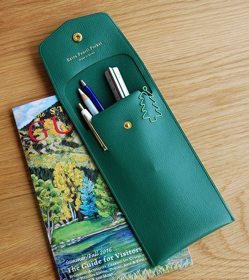 Extra Pencil Pouch (Green)