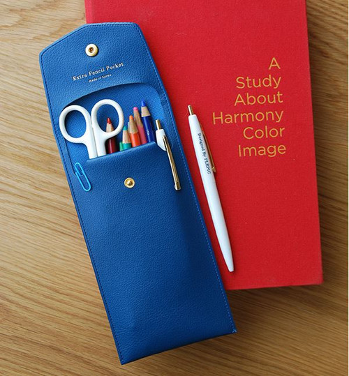 Extra Pencil Pouch (Blue)