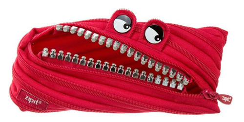 Bad Monster Pencil Case(Red)