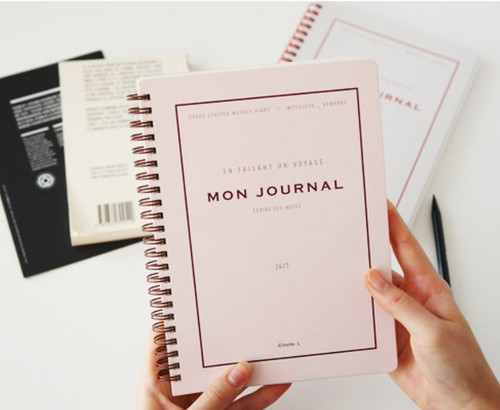 Mon Journal Weekly Diary (undated style)