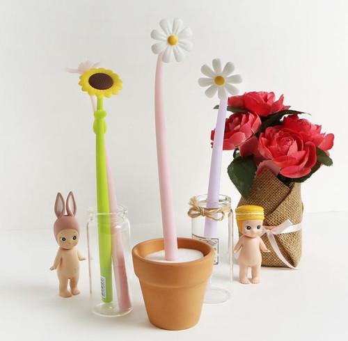 Flower Gel Pen (2ea)