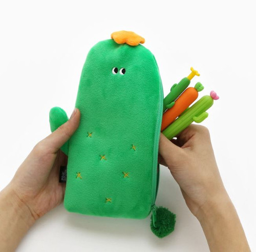 Cactus Slim Pencil Pouch