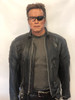One of Arnold Schwarzenegger Costumes TERMINATOR 3: RISE OF THE MACHINES (2003) #49588 . Mannequin design by Tom Spina Designs: New York, Images by Tom Spina Designs