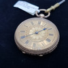 10CT SOLID YELLOW GOLD WALTHAM POCKET FOB WATCH #38234