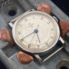 RARE OMEGA RED STAR MANUAL WATCH CAL 30SCT2 (A/F) - C/1943 - SERVICED #52276