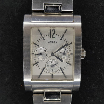 Guess Chronograph Quartz Watch Stainless Steel Band #33904