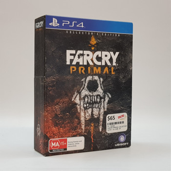 Farcry Primal Collectors Edition Playstation 4 PS4 Game #55452