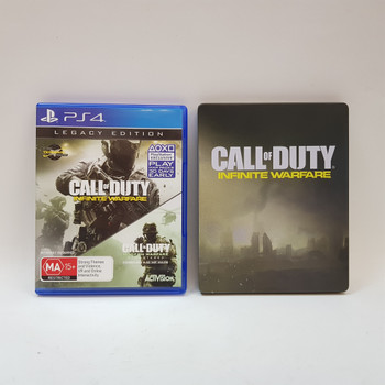 Call of Duty Infinite Warfare Legacy Edition Ps4 Steel Book Edition #55454-1