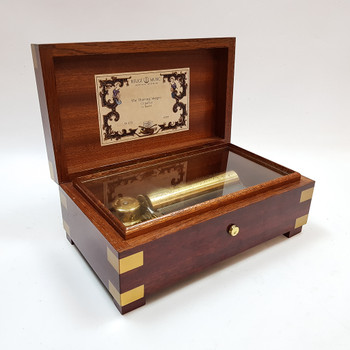 Reuge Wooden Music Box - The Thieving Magpie CH 3/72 #55685