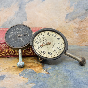 Pair of Collectable Waltham Car Clocks (A/F for Parts) #55753