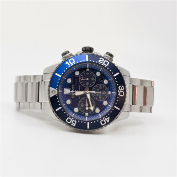 Seiko SSC675P Save the Ocean Special Edition Watch V175-0AD0 + Box #54612