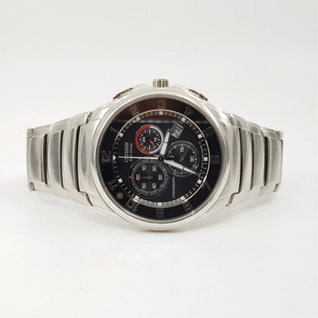 Citizen Watch Eco Drive H500 Chronograph - S049628 Stainless Steel Band #55695
