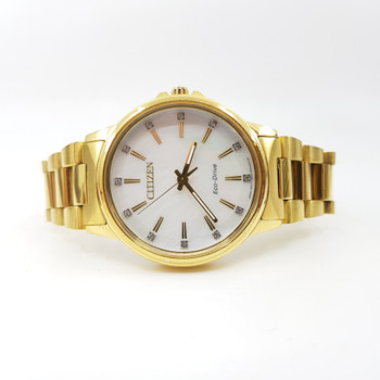Citizen Mother of Pearl Dial Eco Drive Watch 801030125 #55686
