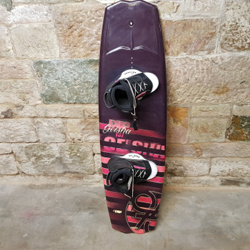 Double up Geisha 137cm Wakeboard with Bindings & Tow Rope #53876