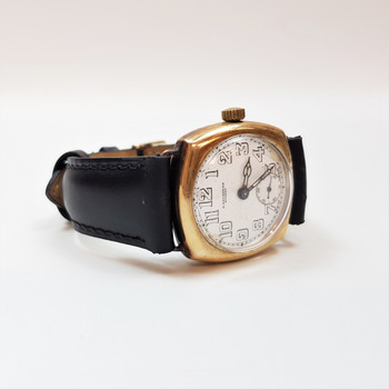 Vintage 9ct Gold A. Saunders Sydney Manual Watch C/1927 #33211