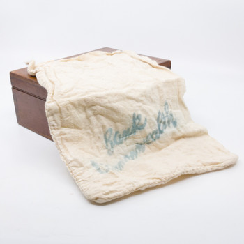 Vintage Bank of Commonwealth Hessian Banknote Coin Bag #55314