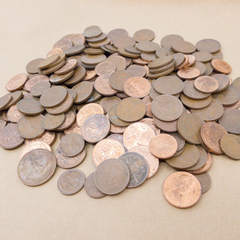 Australia Coin Collection - 1 & 2 Cent Mixed / Unsorted Coins 1.15 Kg #55312