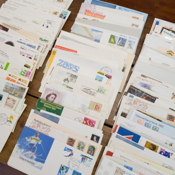 Collection of 500+ Vintage First Day of Issue Stamped Envelopes (60s-90s) #55758