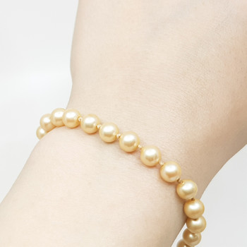 Knotted Pearl Style Bracelet 19cm #55431