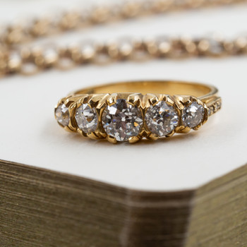 18ct Yellow Gold Diamond Ring 2.29ct (Val $17,400) Size S1/2 #34967