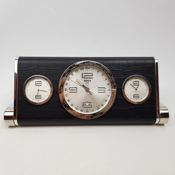 Swiza 1904 World Desk Clock #28268