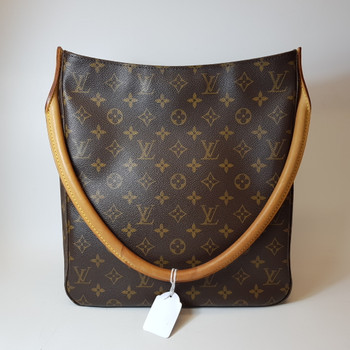AUTHENTIC LOUIS VUITTON MONOGRAM LOOPING GM BAG