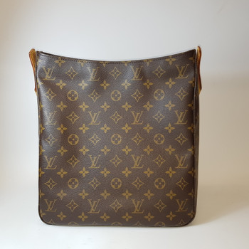 AUTHENTIC LOUIS VUITTON MONOGRAM LOOPING GM BAG M:DU0091 #36651
