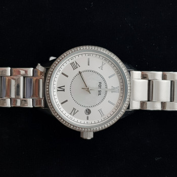 LADIES FOSSIL WATCH STAINLESS STEEL