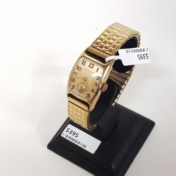 14CT GOLD FILLED HAMILTON WATCH #22233