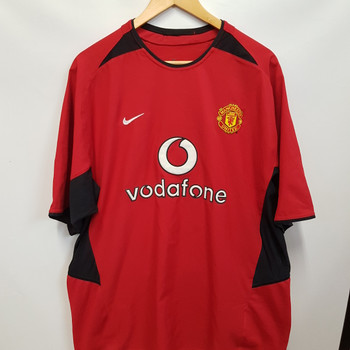 MANCHESTER UNITED JERSEY x2 RED AND WHITE  #48863 #48864