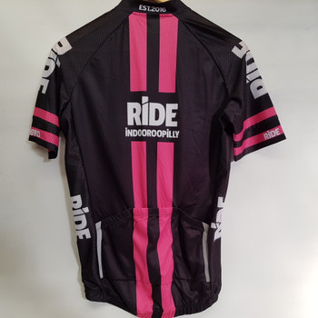 *NEW* RIDE INDOOROOPILLY BICYCLE BIKE RIDING JERSEY PINK SIZE M #48882