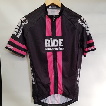 RIDE INDOOROOPILLY JERSEY PINK SIZE M #48882