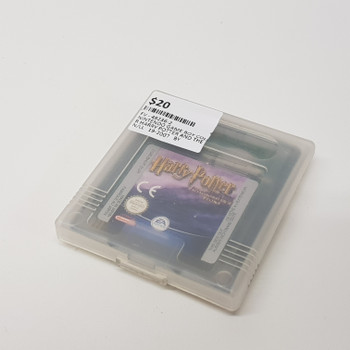 NINTENDO GAME BOY COLOR HARRY POTTER AND THE PHILOSOPHER'S STONE #49236-2