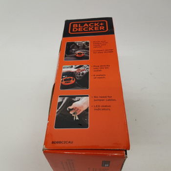BLACK & DECKER BOOSTER CABLE BDBBC2CAU NEW IN BOX #47265