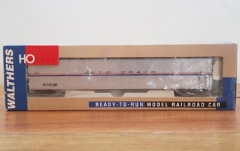 WALTHERS 932-6222 75 AUTO TRAIN AUTO CARRIER AMTRAK PHASE IV 4 9022 #32138