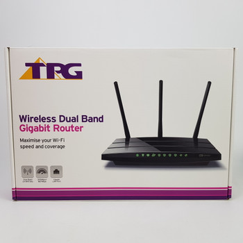 TP-LINK WIRELESS DUAL BAND GIGABIT ROUTER MODEM ARCHER- IN BOX #51077