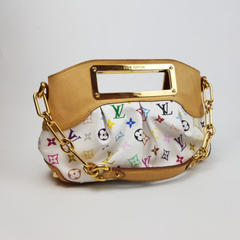 LOUIS VUITTON LV BAG MULTICOLOUR JUDY PM MONOGRAM MULTICOLOR SHOULDER HAND BAG M40257 #36657