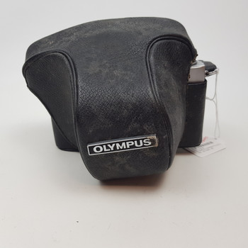 OLYMPUS CAMERA FTL + 50MM SCREW ON LENS & LEATHER CARRY CASE #51659
