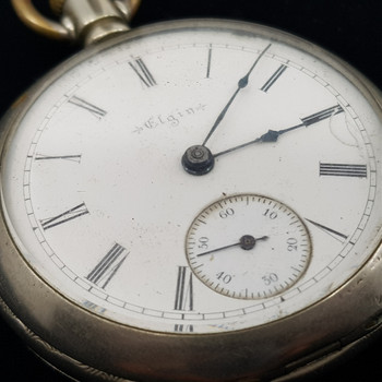 1898 ELGIN FOB WATCH #42068