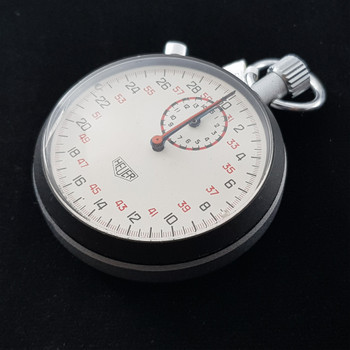 HEUER SPLIT SECOND STOP WATCH #43199