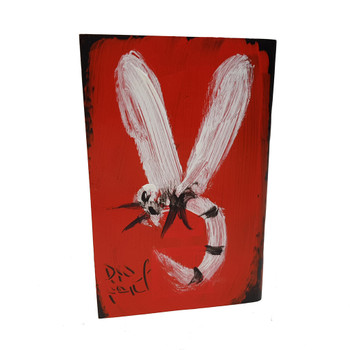 PAINTING DRAGON FLY ON GOOD NEWS TOLD BY JOHN BOOK #46621