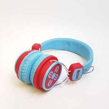 MOKI OVER EAR HEADPHONES - BLUE & RED #49157