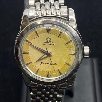 OMEGA SEAMASTER AUTOMATIC WATCH - C/1958 CAL 470 - SERVICED #51126